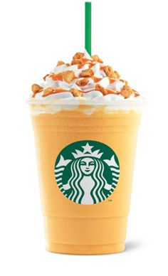 ส้ม Honeycomb Crunch Frappuccino