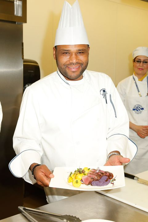 Anthony Anderson at Le Cordon Bleu