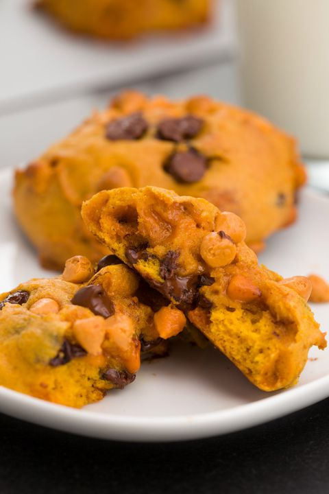 Pumpkin butterscotch cookies