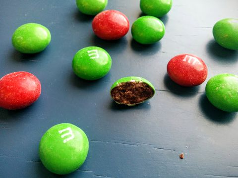 Kaj Cafe Mocha M&Ms Look Like