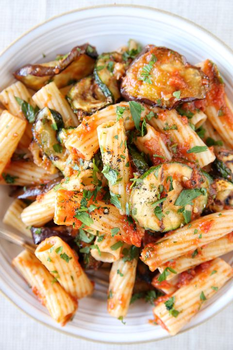 ย่าง Vegetable Rigatoni Recipe
