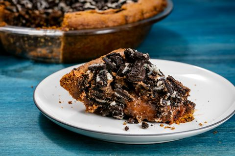 Kurabiye Dough Brownie Pie Recipe