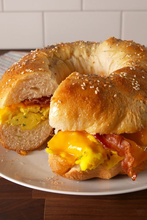 Giant Breakfast Sandwich