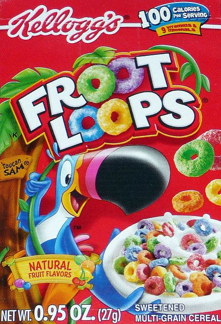ovocný Loops Cereal Secrets