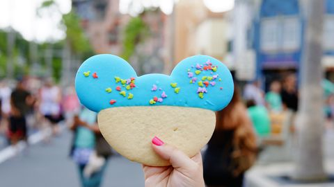 Mickey Sugar Cookie Horizontal