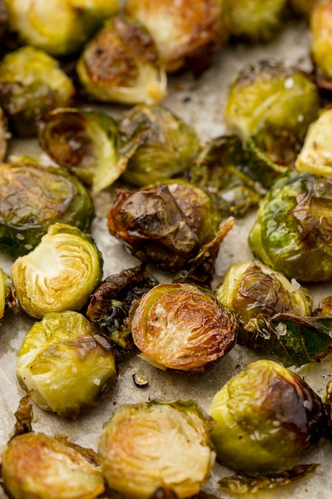 ย่าง Brussels Sprouts