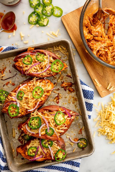 Barbekü Chicken Sweet Potatoes Vertical