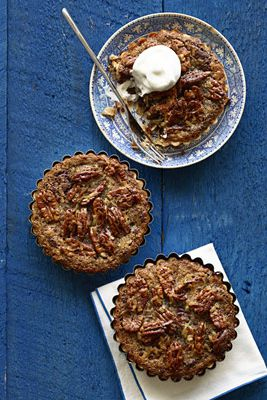 pôvodne featured in the 1965 edition of Woman's Day magazine, this classic pecan tart is upgraded with luscious chocolate and sweet coconut.Recipe: Mini German Chocolate Brownie Pecan Tarts