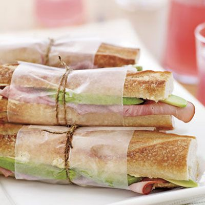 let the mild, nutty flavor of avocados stand in for Swiss cheese in a classic ham sandwich.