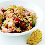 ไก่, Shrimp, and Sausage Jambalaya - RBK 0108