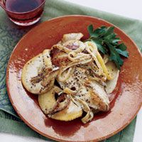 Apple-Dijon Skillet Chicken