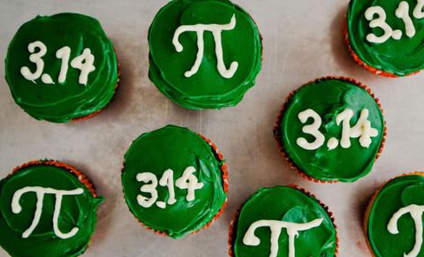pi day cupcakes