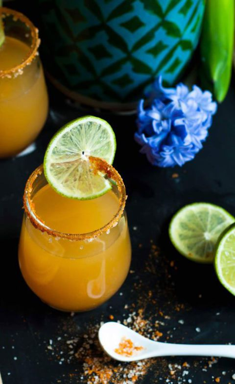 พริก pineapple guava margarita