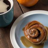 chai spiced sticky buns