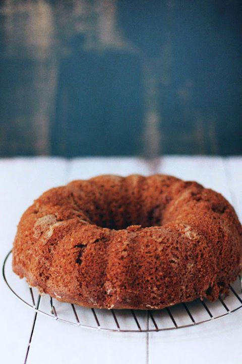 chai spiced tea cake