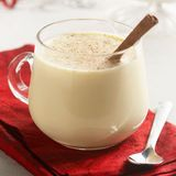 toffee panna cotta with eggnog