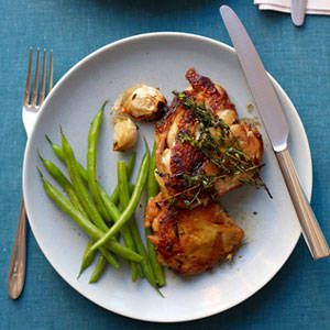 tehla Chicken with Garlic and Thyme