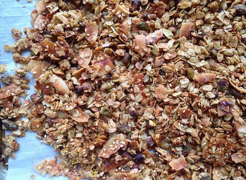 toto homemade granola recipe is delicious.