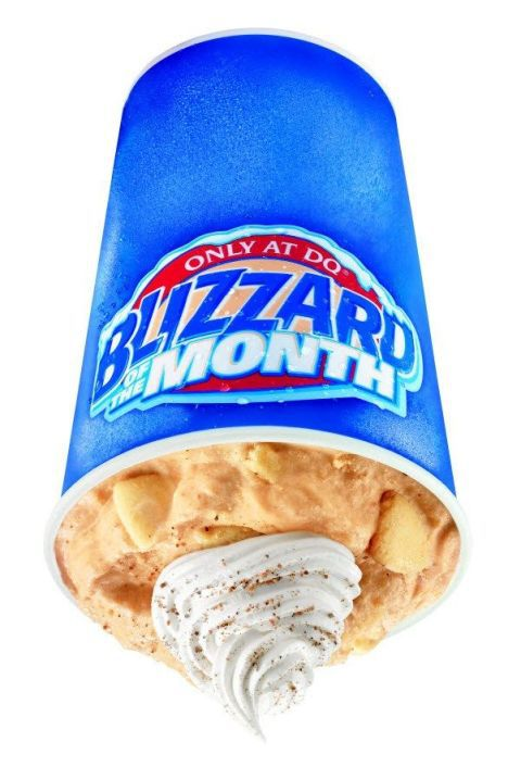Mejeri Queen Pumpkin Pie Blizzard