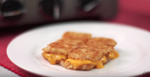 tater Tot Grilled Cheese Recipe
