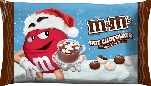 tmavý Chocolate Hot Chocolate M&Ms