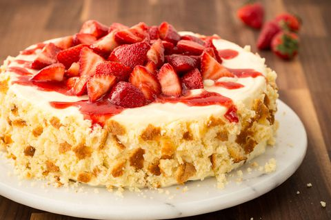 Strawberry Shortcake Cheesecake Recipe