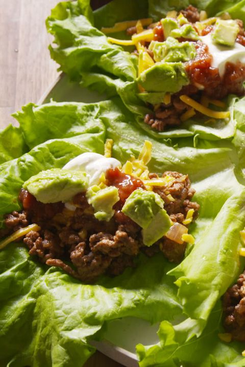 Taco Lettuce Cups