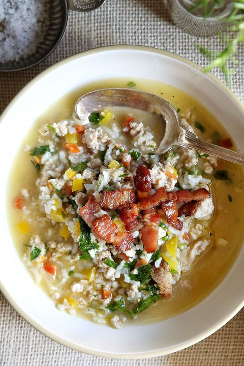 puran and Rice Vegetable Soup Recipe