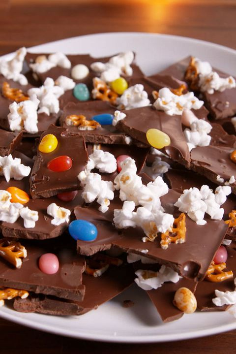 Charlie Brown Thanksgiving-Inspired Chocolate Bark Recipe