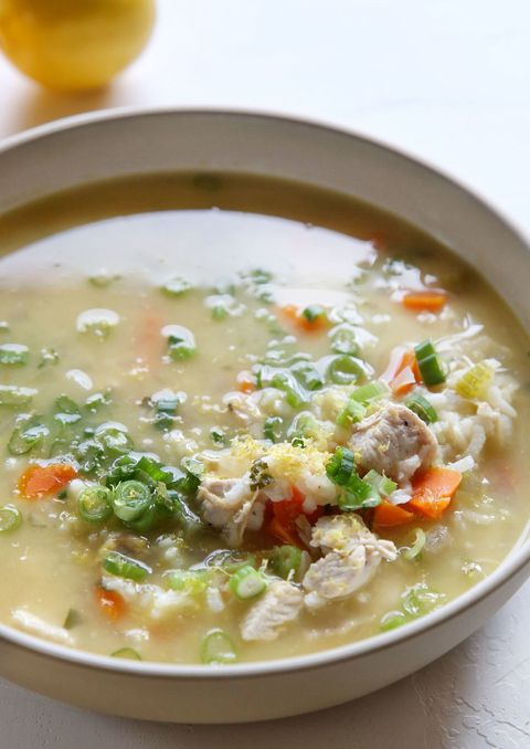Limon Chicken and Rice Soup Vertical