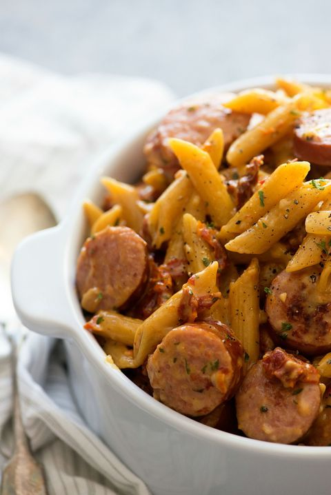 ตาก Tomato Pasta with Smoked Sausage Vertical