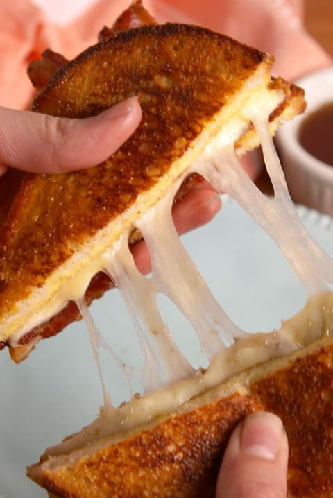 Francoski Toast Grilled Cheese