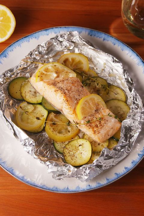 Limon Butter Salmon Foil Packs