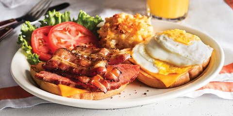 javor Bacon Breakfast Sandwich