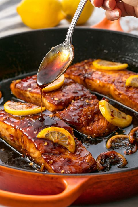 Bal Garlic Glazed Salmon Vertical