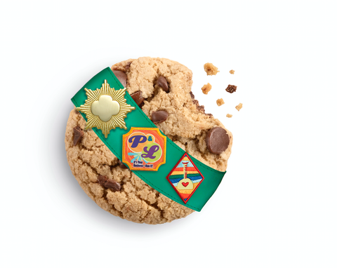 Karamel Chocolate Chip Girl Scout Cookie