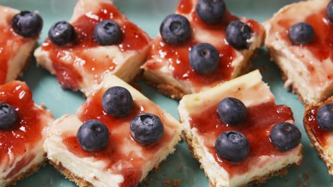 bobule Cheesecake Bars