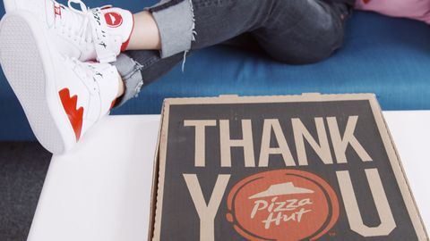 pizza Hut Sneakers Horizontal Box