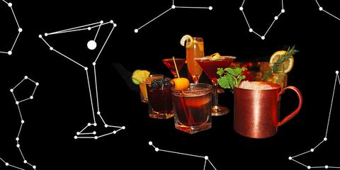 cocktails by Zodiac Sign - Redbook