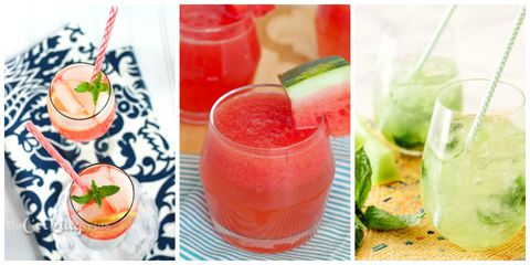 Delish.com Wine Spritzers Collage