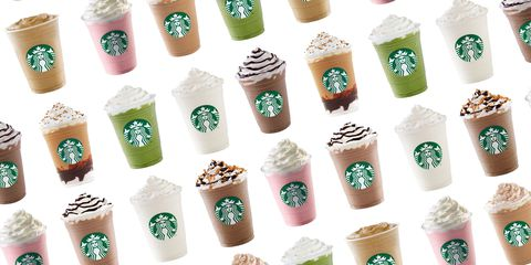 delish's Definitive Ranking of the Best Frappuccino Flavors