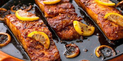 Bal Garlic Glazed Salmon Horizontal