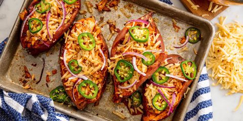 Barbekü Chicken Sweet Potatoes Horizontal