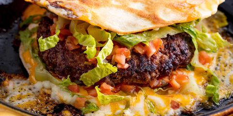 Quesadilla Burger Horizontal