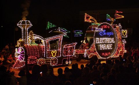 dazzling and colorful 'Disney's Electrical Parade' returned to Disneyland Resort's newest theme